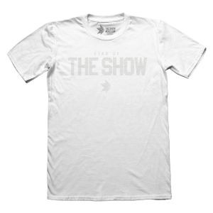 The Show Premium Fit Ghost Grip T-shirt Chrome