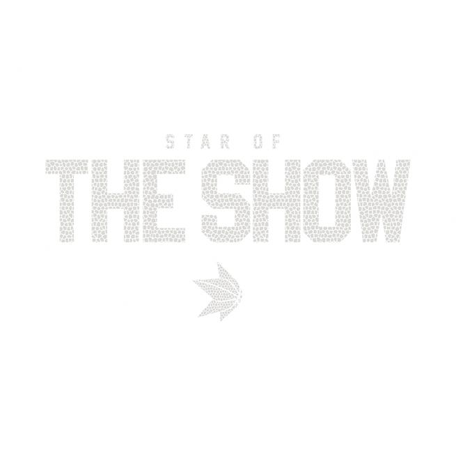 The Show Ghost Grip Artwork Chrome