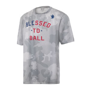 The Show Primetime Dry Blessed to Ball T-shirt White Camouflage