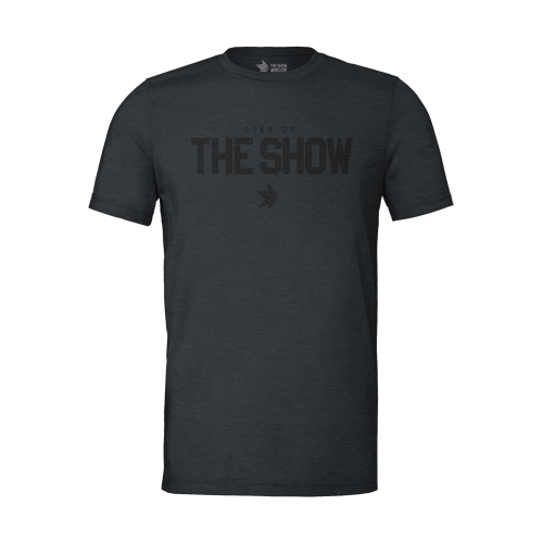 The Show Premium Fit Ghost Grip T-shirt Charcoal